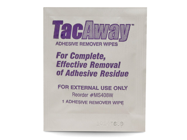 Tac Away™ Adhesive Remover Wipes