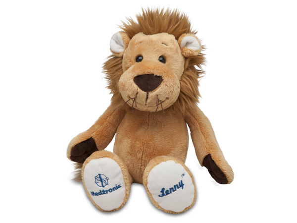 Lenny® The Lion Plush and Pump Carrying Case